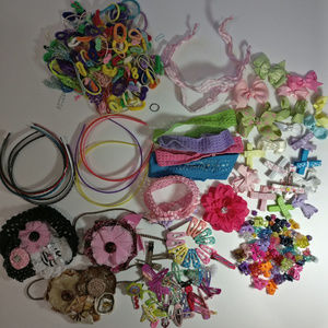 Other - Large Lot of Girls Hair Accessories